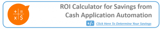 ROI calculator for savings from Cash Application