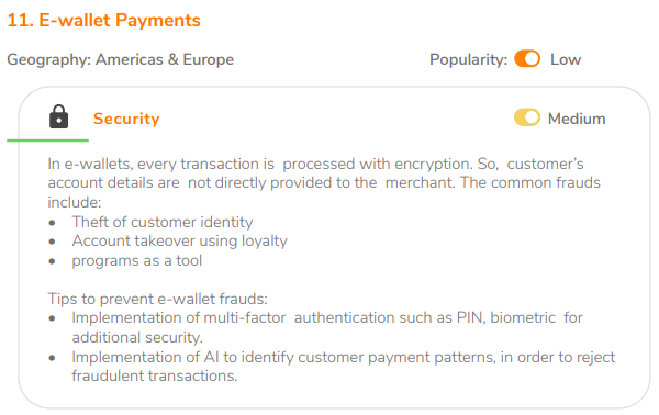E-wallet Payments