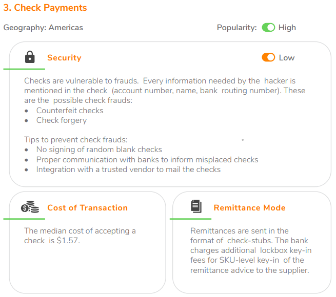 Check Payments
