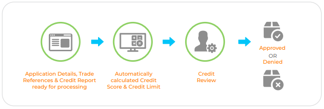 Automatic credit approval