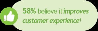 Customer Experience Percentage