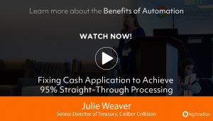 Fixing Cash Application to Achieve