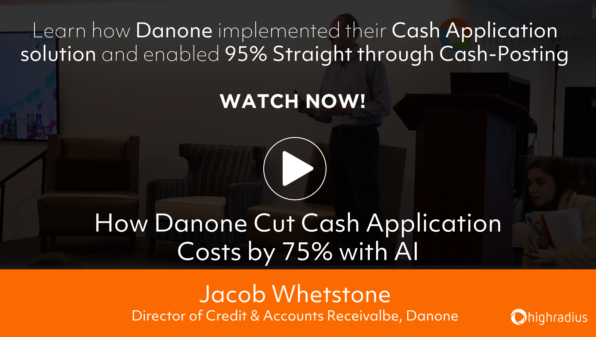 How Danone Cut Cash Application Costs by 75% with AI