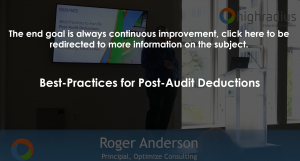 Post Audit Deductions Thumbnail