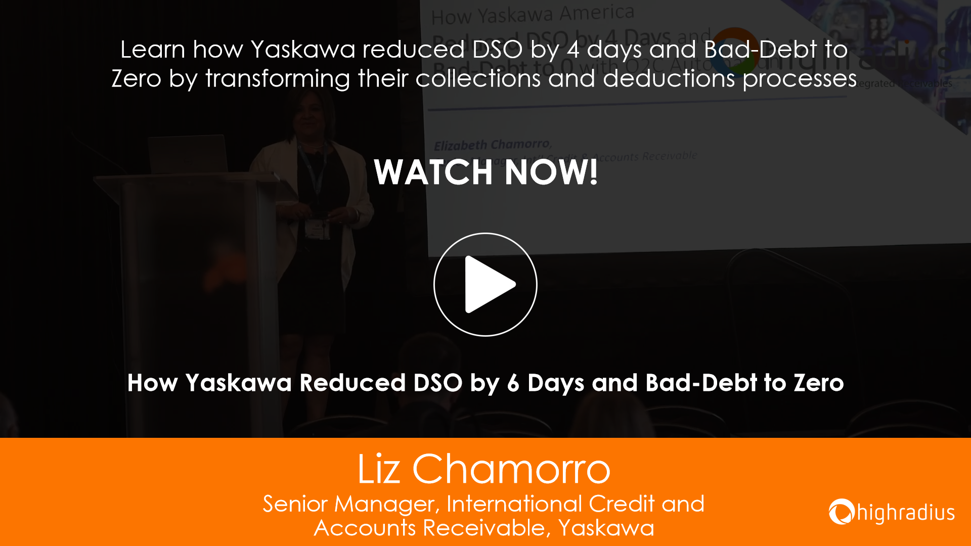 How Yaskawa Reduced DSO by 6 Days and Bad-Debt to Zero