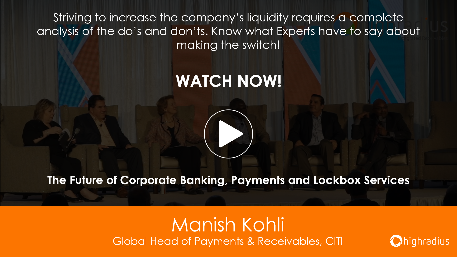 The Future of Corporate Banking, Payments and Lockbox Services