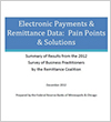 Electronic Payments & Remittance Data Pain Points & Solutions