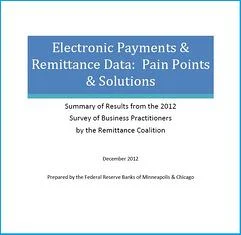 Whitepaper: Electronic Payments & Remittance Data Pain Points & Solution