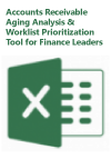 Accounts Receivable Aging Analysis & Worklist Prioritization Excel Tool for Finance Leaders