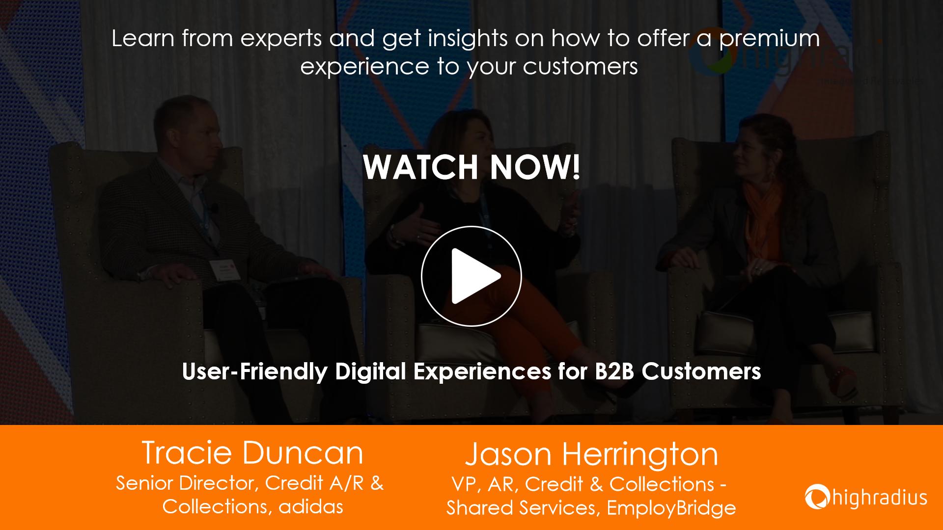 User-Friendly Digital Experiences for B2B Customers