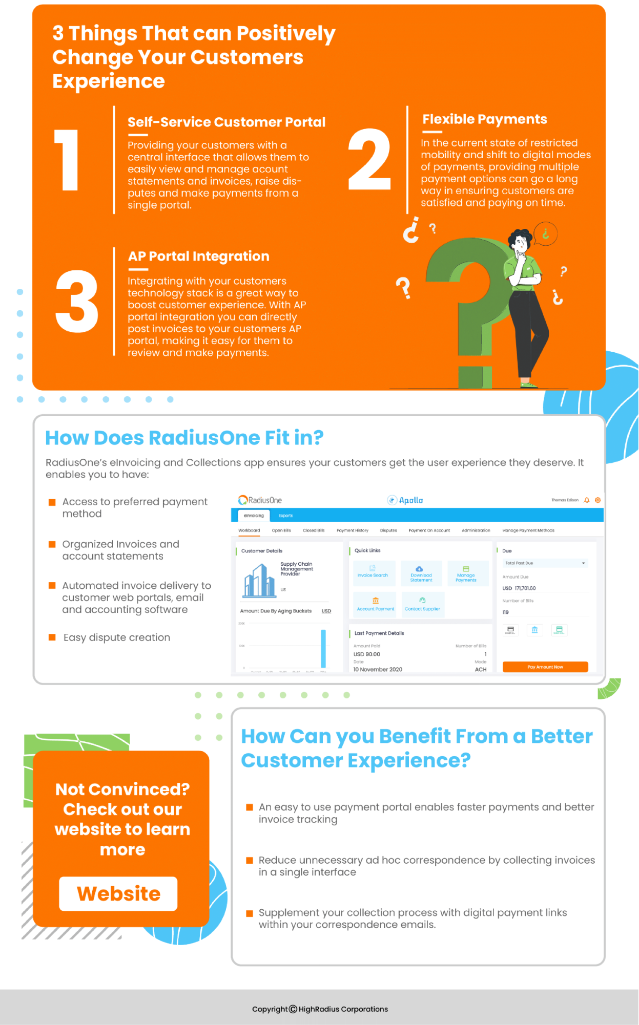 Win Over Your Accounts Receivables With Improved Customer Experience