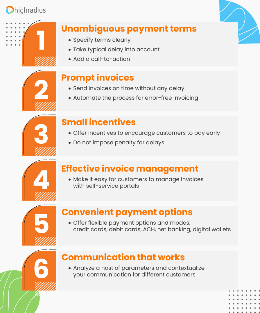 6 Accounts Receivable Tips to Get Paid Faster