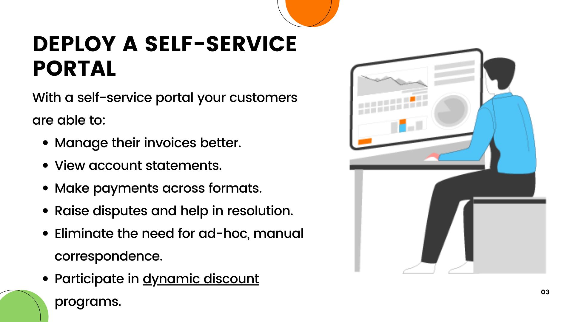 Point-1:Deploy a Self service Portal-explaination