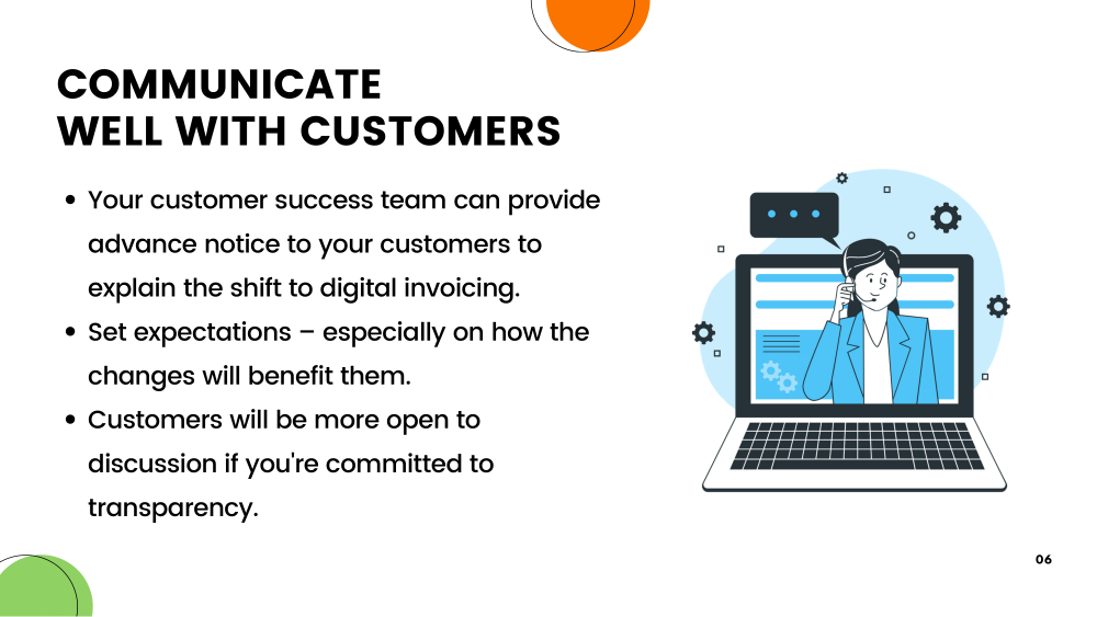 Point-4:Communicate well with Customer