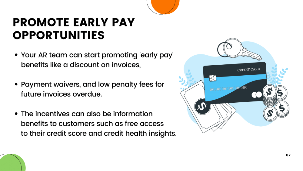 Point-5:Promote Early Pay Opportunities