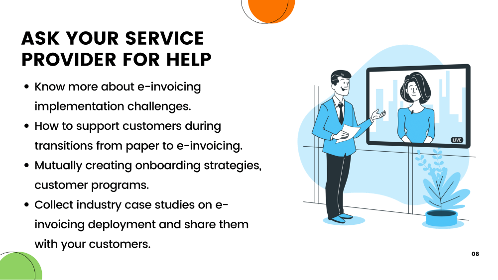 Point-6:Ask your Service Provider for help