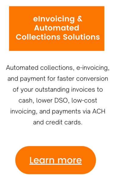 Learn about eInvoicing & Automated Collections Solutions