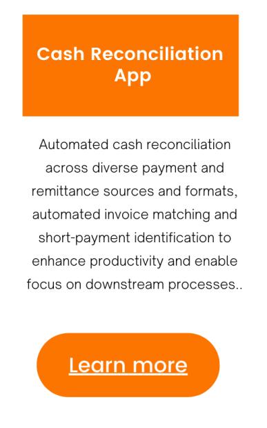 Learn about Cash Reconciliation App