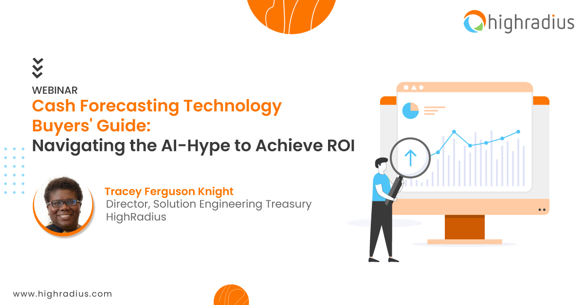 """webinar on the """"Cash forecasting buyer's guide: Navigating the AI hype to achieve ROI"""