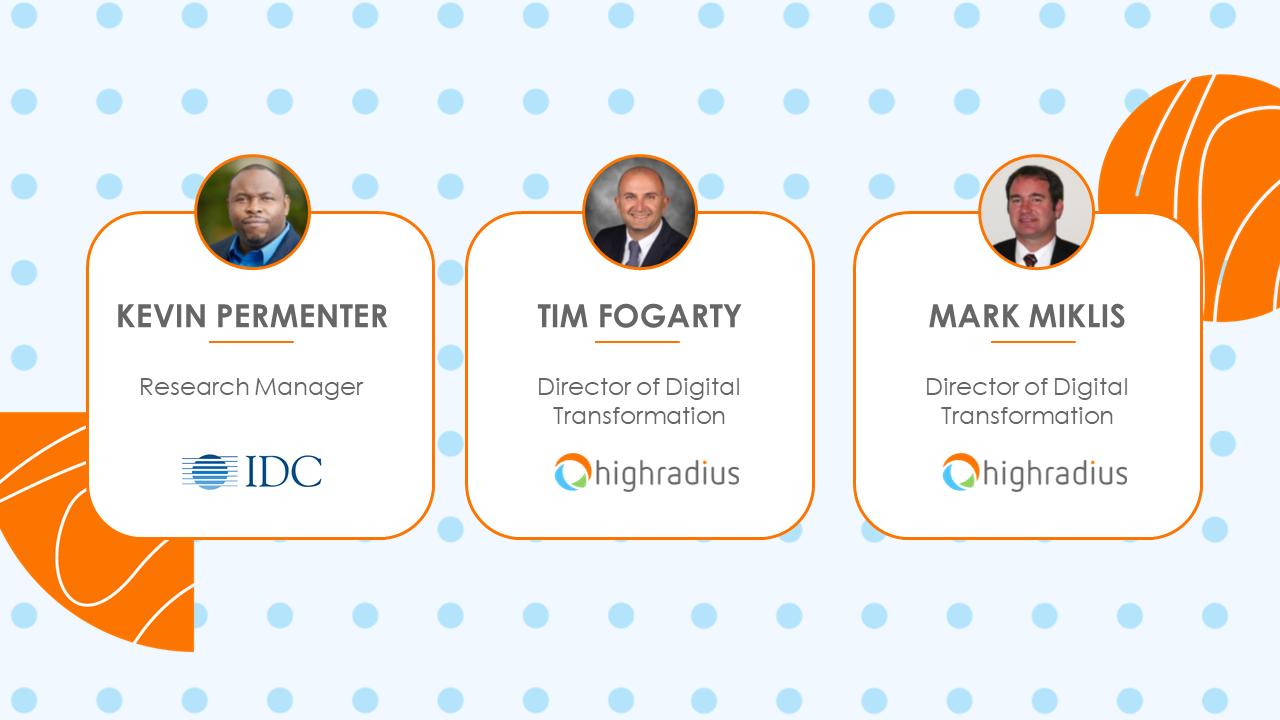 IDC Speaker panellist