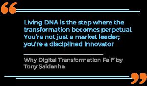 Why Digital Transformation Fail by Tony Saldanha