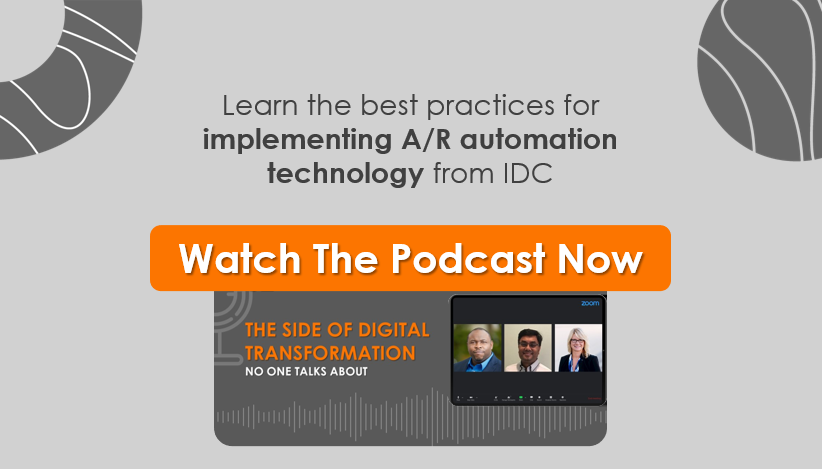 IDC on Why 85% A/R Transformation Projects Fail